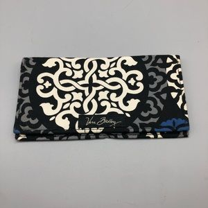Vera Bradley pattern fabric checkbook cover
